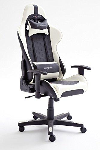 DX Racer6 Gaming Stuhl, Schreibtischstuhl, Bürostuhl, Chefsessel mit Armlehnen, Gaming chair
